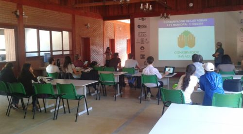 ENVIRONMENTAL PROFESSIONALS VISIT HEADQUARTERS OF THE CONSERVADOR DES ÁGUAS PROJECT IN EXTREMA-MG